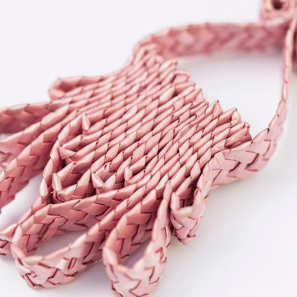 Pendientes Ikat Pink