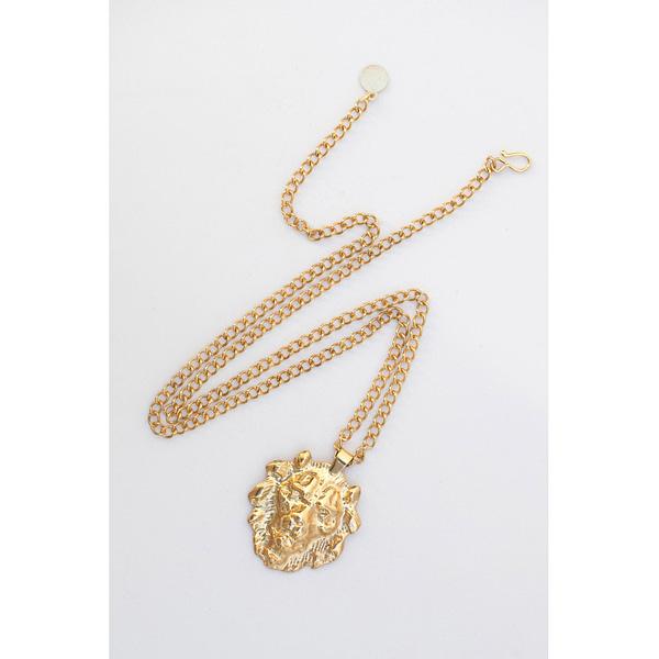 Colgante León Oro