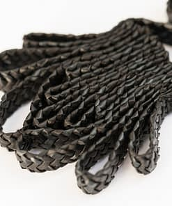 Pendiente Ikat Negro