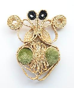 Broche Escarabajo